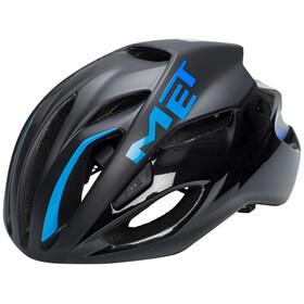 MET Rivale Fietshelm blauw/zwart